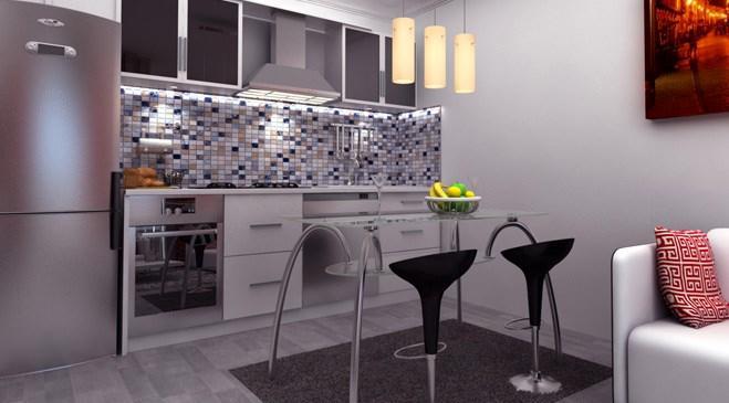 ela concept ankara projesinin mutfağından bir kare