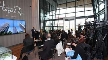 Özak GYO Hayattepe projesi basına tanıtıldı