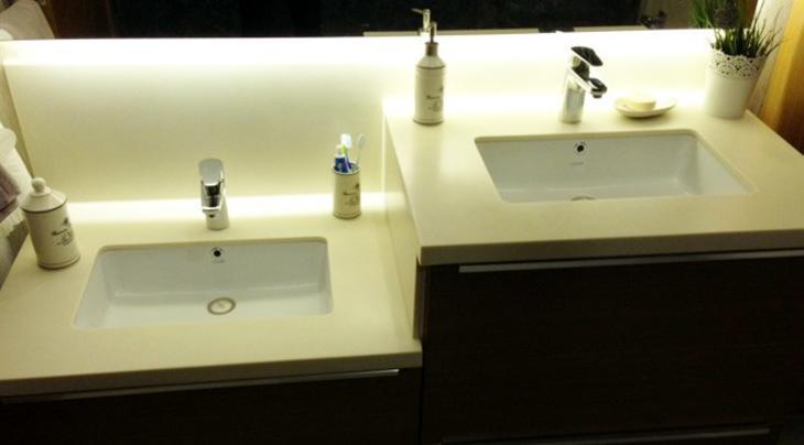 banyo lavabo dekorasyon