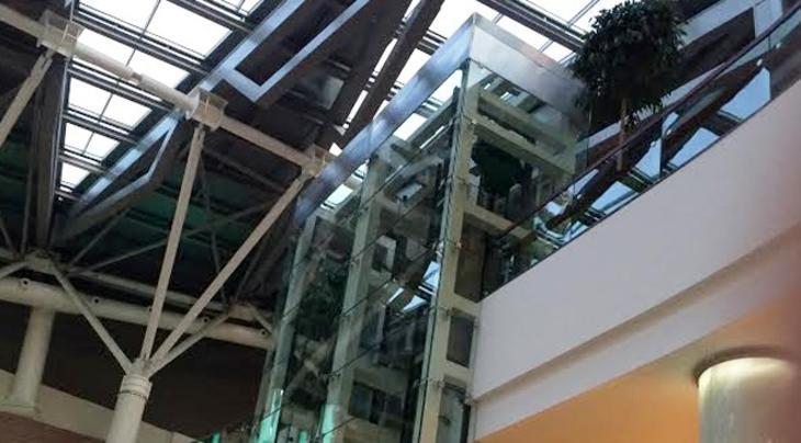 torunların yeni avm projesindeki asansörler
