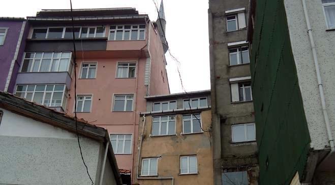 Kentsel dönüşüm alanı Beyoğlu Örnektepe ve Sütlüce foto galerisi