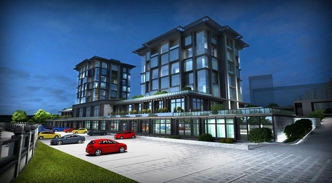 emlak konutun finans merkezindeki yeni binası
