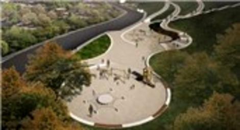 Arnavutköy Şehir Parkı Projesi, çevre düzenlemesi