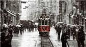İstanbul kar manzarası