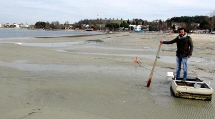 deniz suyu çekilmesi