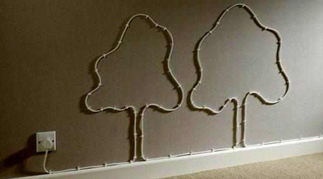 Kablo dekorasyonu
