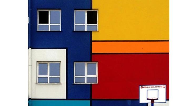 İstanbul'un renkli binaları