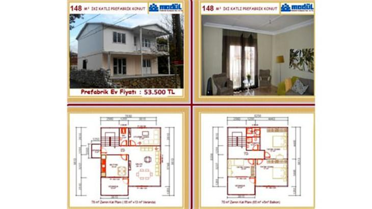 2015 sahibinden satılık prefabrik ev modelleri ve fiyatları