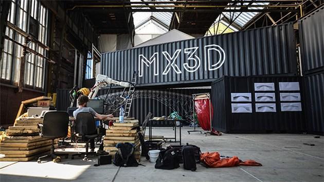 3D print, teknoloji,köprü,hollanda,amsterdam,mx3d