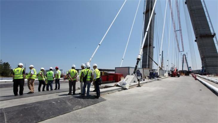 3. köprü çalışmaları son durum