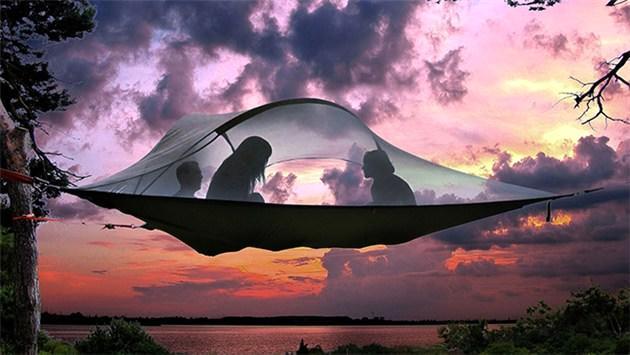 hava çadır, hamak çadır, kamp, doğa, çadır