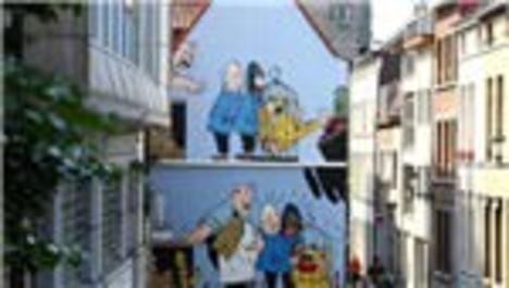 brüksel'deki çizgi roman yolu