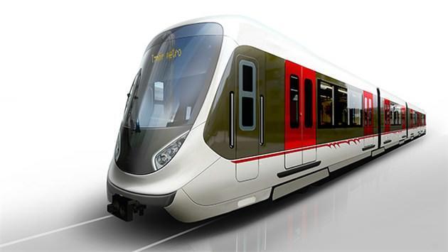 izmir metrosunun yeni vagonu