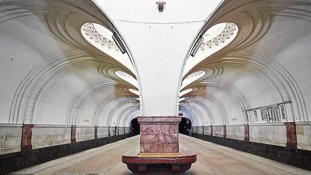 moskova metrosu, Kanadalı fotoğrafçı David Burdeny