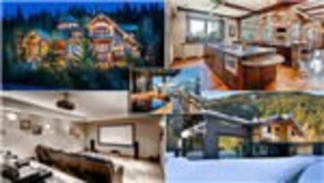 Dünyanın en 'abartılı' dağ evleri