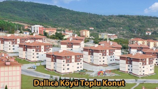 dallıca köyü konutları