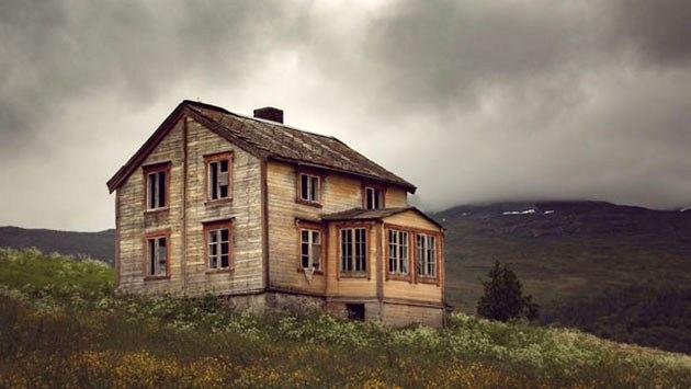 terkedilmis iskandinav evleri