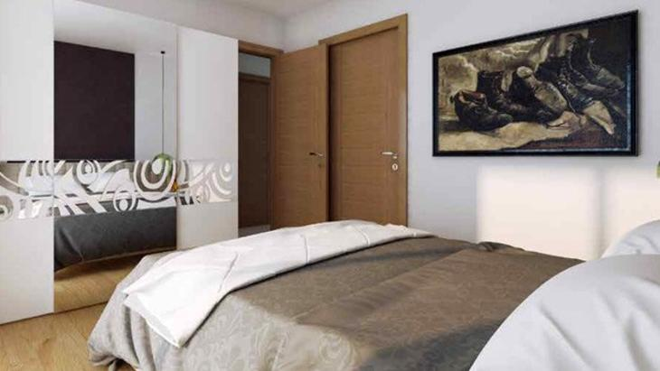 Trio-Life yatak odasi