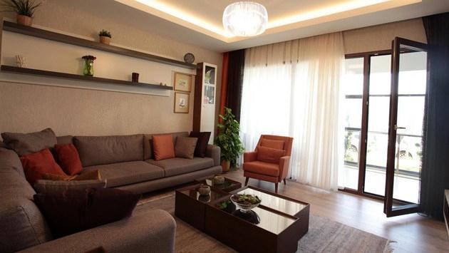 Temaşehir Konya evleri salon
