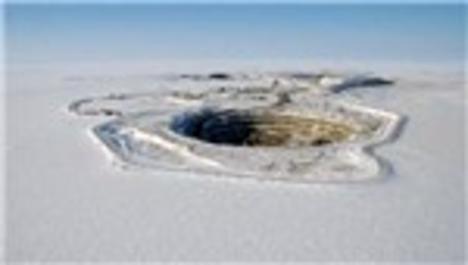 Sibirya'da bulunan Mirney Çukuru
