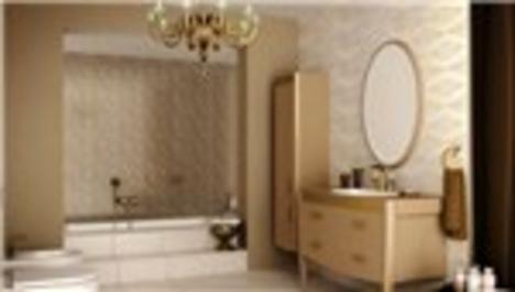 sarı odalı banyo seti