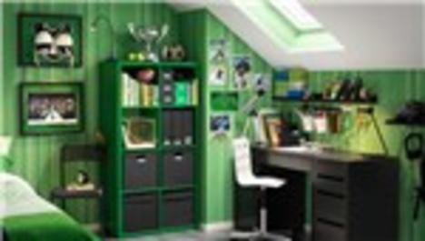 Çocuk odalarına renk katan mobilyalar!
