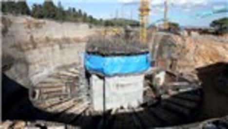 Çamlıca TV kulesi inşaatından son görüntüler