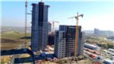 Tual Bahçekent şantiyesinden görüntüler
