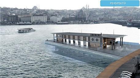 Karaköy'deki yeni vapur iskelesi böyle olacak!