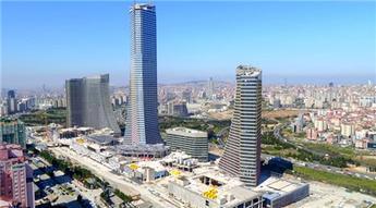 Metropol İstanbul'un son durumu havadan görüntülendi
