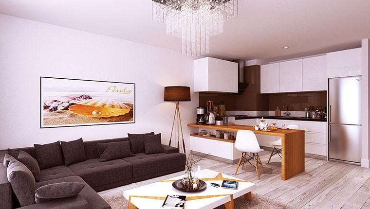 Perola Residence Güneşli örnek daire görselleri!