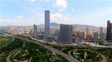 Metropol İstanbul projesi havadan görüntülendi.