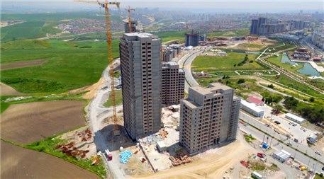 Tual Bahçekent'in şantiye görüntüleri.