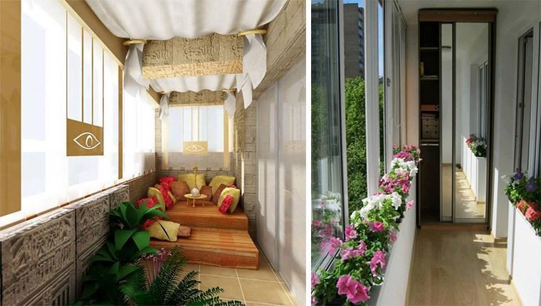 Bu tasarımlar balkonunuza renk katacak