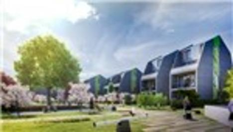 Tepe Aura, dış mekan mimarisi ile dikkat çekiyor