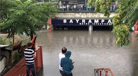 İstanbul'dan yağmur manzaraları!