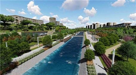 TOKİ'nin Başakşehir'deki Kayapark Şehir Parkı!