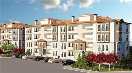 TOKİ'nin Edirne'deki 137 konutluk projesi!