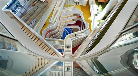 İşte ilginç merdiven tasarımları!