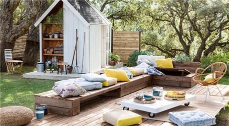 Çeşitli bahçe dekorasyonu fikirleri