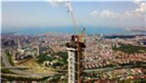 Çamlıca Radyo ve Tv Kulesi'nin inşaatında son durum!