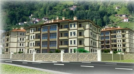 TOKİ'nin Rize'de yapacağı 158 konut projesi!