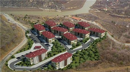TOKİ'nin Kemaliye'ye yapacağı 146 konut!
