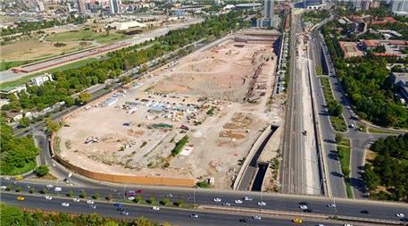 Merkez Ankara projesi havadan görüntülendi!