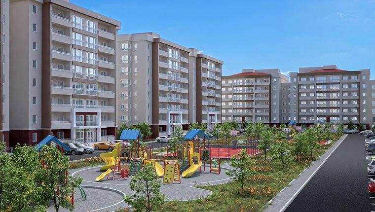 TOKİ'nin Nevşehir'de yapacağı 225 konut!