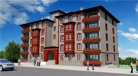 TOKİ'nin Kastamonu'da yapacağı yöresel mimaride 316 konut!