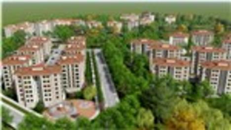 TOKİ'nin Kırıkkale'de yapacağı yeni projenin görselleri
