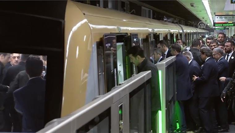 Üsküdar-Ümraniye metrosu ilk seferini yaptı