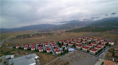 Çorum Kargı'da yöresel mimaride bir mahalle inşa ediliyor