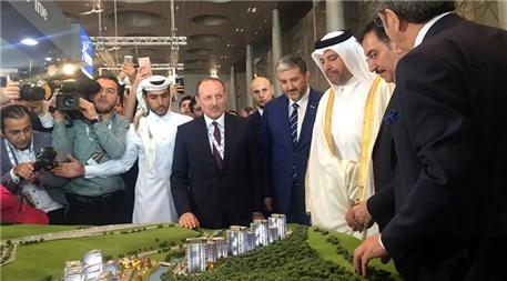 Katar Ekonomi ve Ticaret Bakanı, Artaş standını ziyaret etti